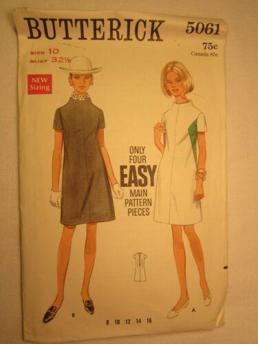 CHOICE Vtg Butterick PATTERN Miss Size 6,8,10,12 DRESS Blouse JUMPER Pants GOWN