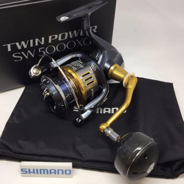 ce62f214385 Shimano 15 Twin Power SW 5000xg Spininng Reel for sale online   eBay