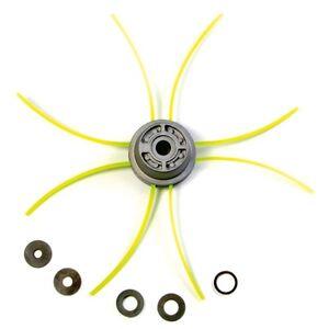 Tête débroussailleuse Multi-fils araignée alu//nylon 8 fils