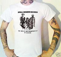 Small Wonder Records T-Shirt Punk Cure Bauhaus Proles Crass Cravats