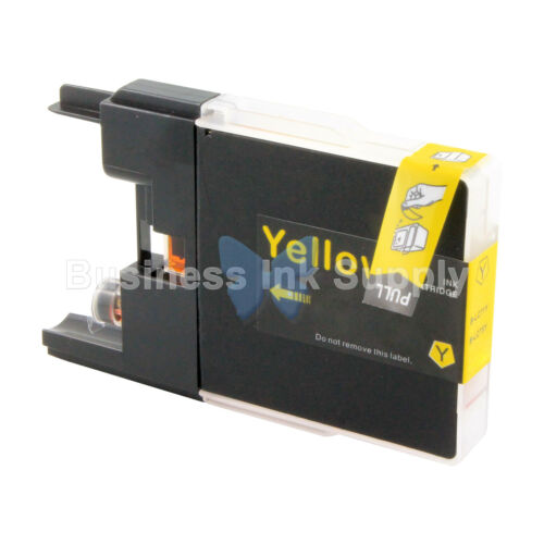 1 YELLOW LC71 LC75 Compatible Ink Cartridge for Brother LC75Y HIGH YIELD LC71Y