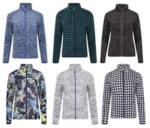 Womens-Fleece-Jacket-Ex-Store-Classic-Full-Zip-Fleece-Jumper-Active-Gym-Running