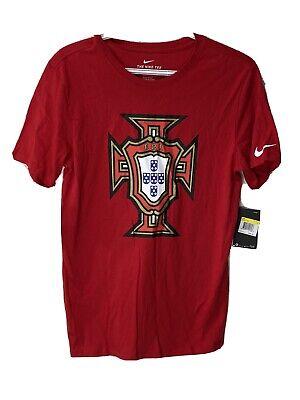Nike Mens SZ S Portugal Soccer TShirt World Cup Crest CR7 CRISTIANO 909843 687   eBay