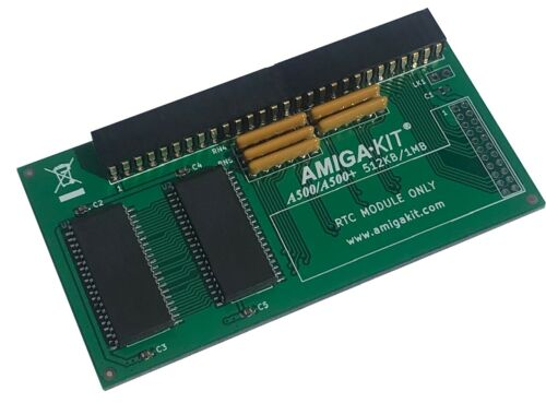 1MB MEMORY RAM EXPANSION COMMODORE AMIGA 500 PLUS NEW FROM AMIGA KIT 0502 A500