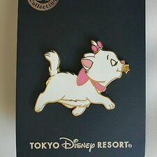 Japan Tokyo Disney TDR - Aristocats Marie Cat Kitten Confident Kitty Walking Pin