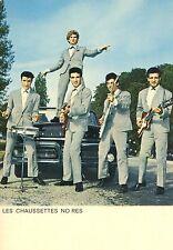 EDDY MITCHELL LES CHAUSSETTES NOIRES 60s CARTE POSTALE VINTAGE #7
