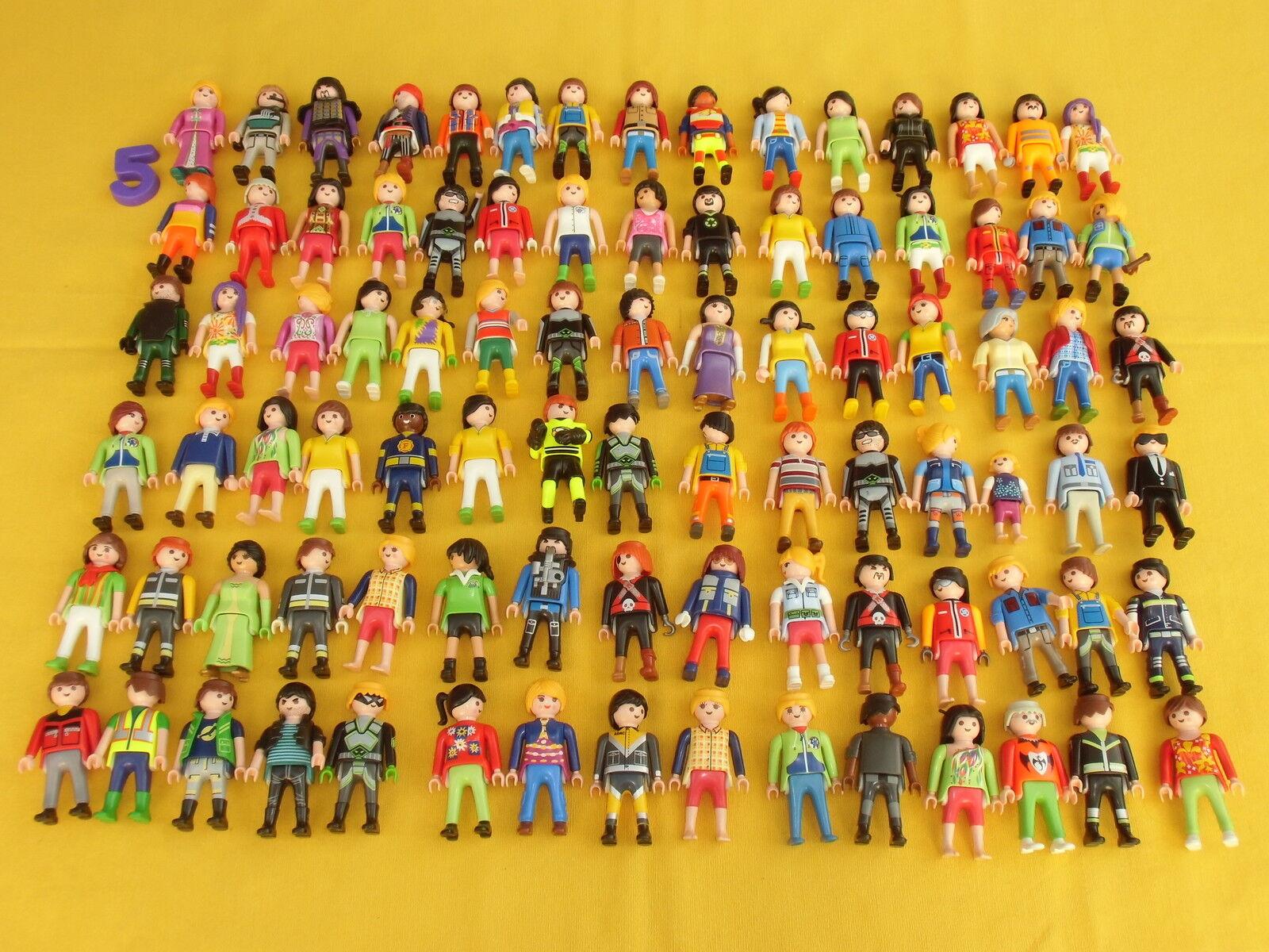 Playmobil FIGURAS, 90 FIGURAS VARIADAS, NOVEDAD, SIN USAR, LOTE 5