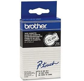 9 mm Bandbreite brother TC-Tape TC-291 Schriftbandkassette