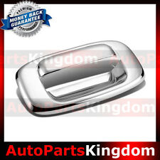 99-06 Chevy Silverado 1500+2500+3500 Triple Chrome Plated Tailgate Handle Cover