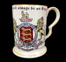 Vintage Adams Ceramic Pint Beer Mug Tankard There Will Always Be An England