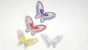 Butterfly-Shiny-Sequin-Applique-Patch-Decoration-Trim-Iron-On-Sew-Motif-Hot-Fix