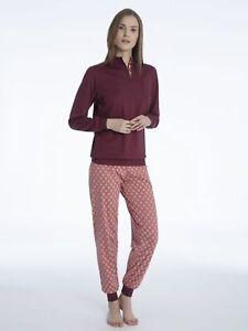 Pyjama Damen amp;ovp Calida