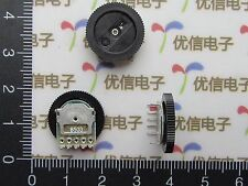 10x Dual Linear B503 50K Dial Potentiometer Gear Wheel Potentiometer 16MM*2MM