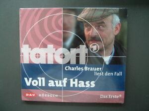Charles-Brauer-liest-Tatort-Voll-auf-Hass-von-Various-Artists-2009-Neu-OVP