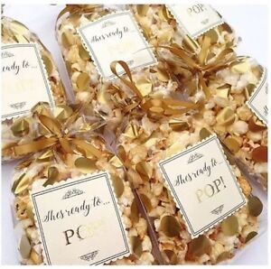 Image Is Loading Personalised Sweet Bags Popcorn Wedding Favours Party