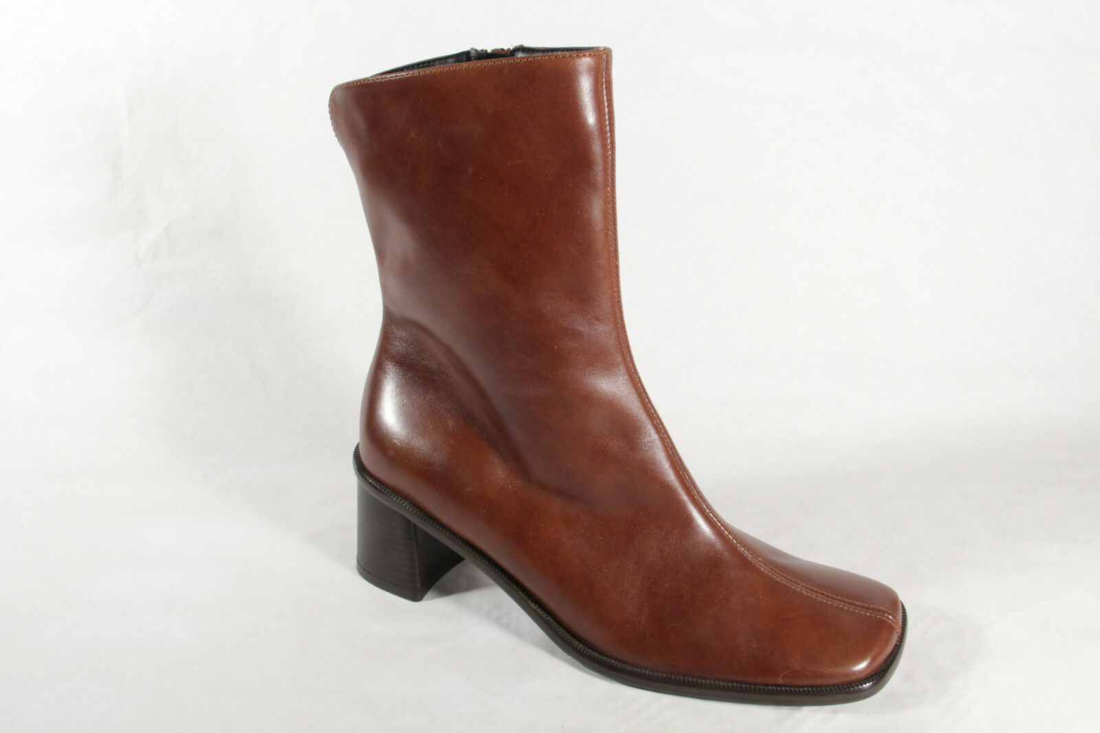 Lenci Women's Boots brown genuine genuine genuine leather narrow shape New 65785e