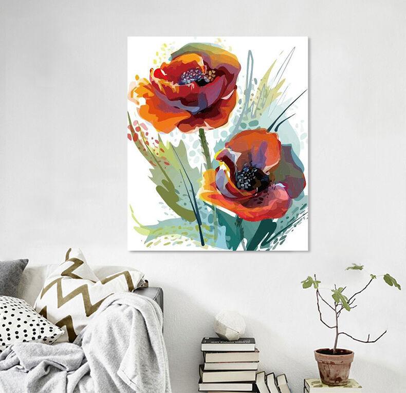 3D Zwei pinkn 109 Fototapeten Wandbild Fototapete Bild Tapete Familie AJSTORE DE