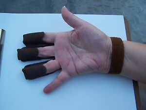 """$5.99 delivered  /""""SALE/"""" Traditional Leather Arm Guards-2 layers,Nice"""