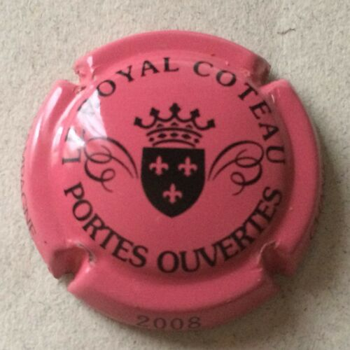 Capsule de Champagne LE ROYAL COTEAU portes ouvertes 19. rose 2008