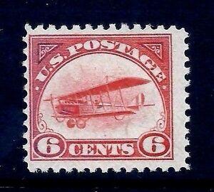US-C1-1st-Airmail-1918-039-Jenny-039-Mail-Transport-Bi-Plane-MNH-OG