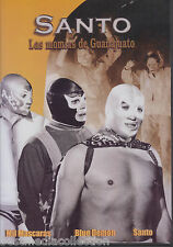 Santo Las Momias De Guanajuato DVD NEW English, French Subtitles NOW SHIPPING !
