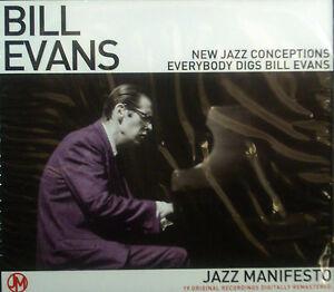 CD-BILL-EVANS-jazz-manifiesto-new-conceptos-de-la-nuevo-embalaje-original