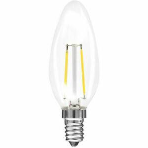Müller-Licht LED Retro Filament Kerze 2,2W = 25W E14 klar gedreht 250lm warmweiß