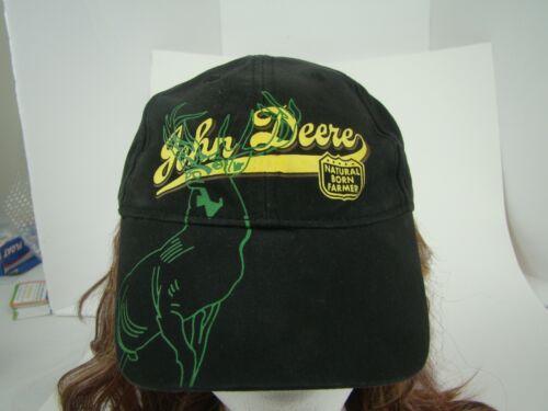 John Deere Natural Born Farmer Hook & Loop Hat Cap