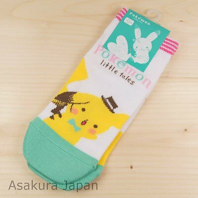 Pokemon Center Original Little Tales Pikachu Socks for Women 23 - 25 cm 1 Pair