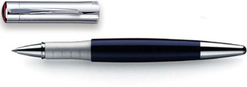 Rotring Initial Navy Blue /& Stainless Steel  Rollerball Pen New In Box *