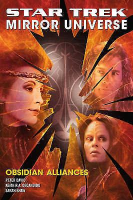 """AS NEW"" David, Peter, Obsidian Alliances (Star Trek Mirror Universe, Bk. Ii) Bo"