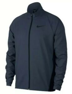 Details about NEW Nike Mens Dri Fit Woven Team Training Jacket BlueBlack 928010 471 $65 Large