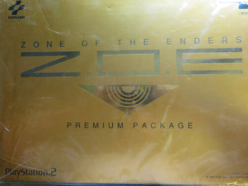 ZONE OF THE ENDERS PREMIUM PACKAGE PS2 JAPAN NEW RARE
