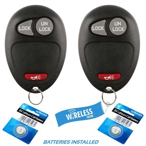 2 Car Key Fob Keyless Remote 3Btn For 2009 2010 Hummer H3T