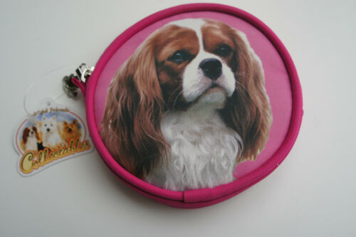 CHRISTMAS STOCKING FILLER CAVALIER BLENHEIM COIN PURSE KING CHARLES CAVALIER