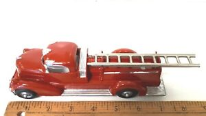 1930-039-s-HUBLEY-Rescue-Truck-w-Ladder-Restored-Excellent-Condition