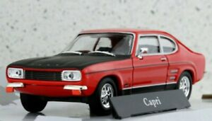 FORD Capri - red / black - Cararama 1:43