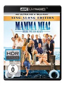 Mamma mia: here We Go Again! - 2 Ultra HD BLU-RAY NUOVO