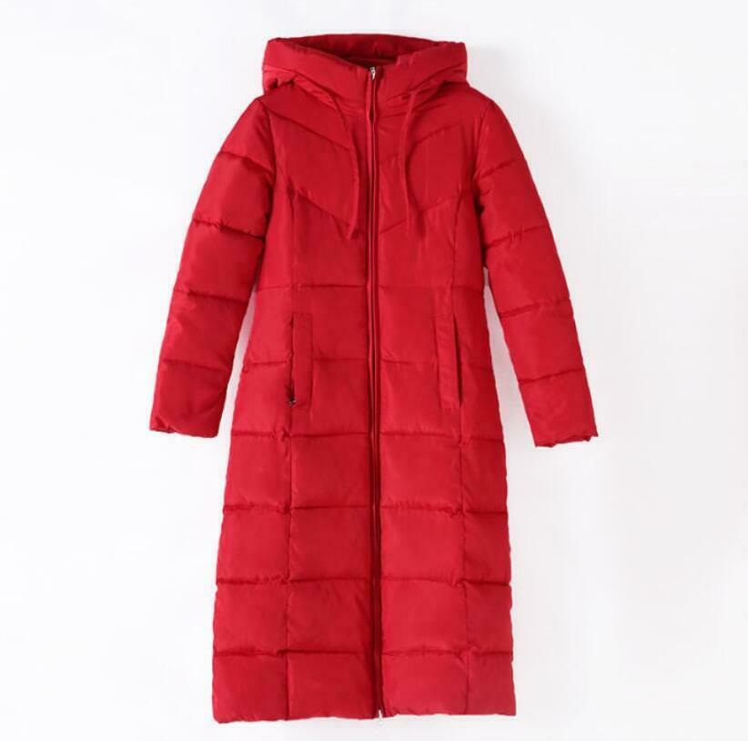 Warm Women's Long Hooded Loose Fit Thick Coat Outwear Parka Quilted Casual M-6XL