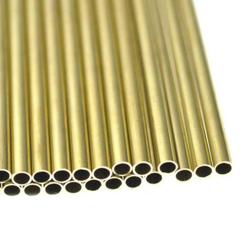 """US Stock 8pcs 5mm OD 4mm ID 0.5mm Wall 9.85/"""" Long H62 Brass Tube Pipe"""