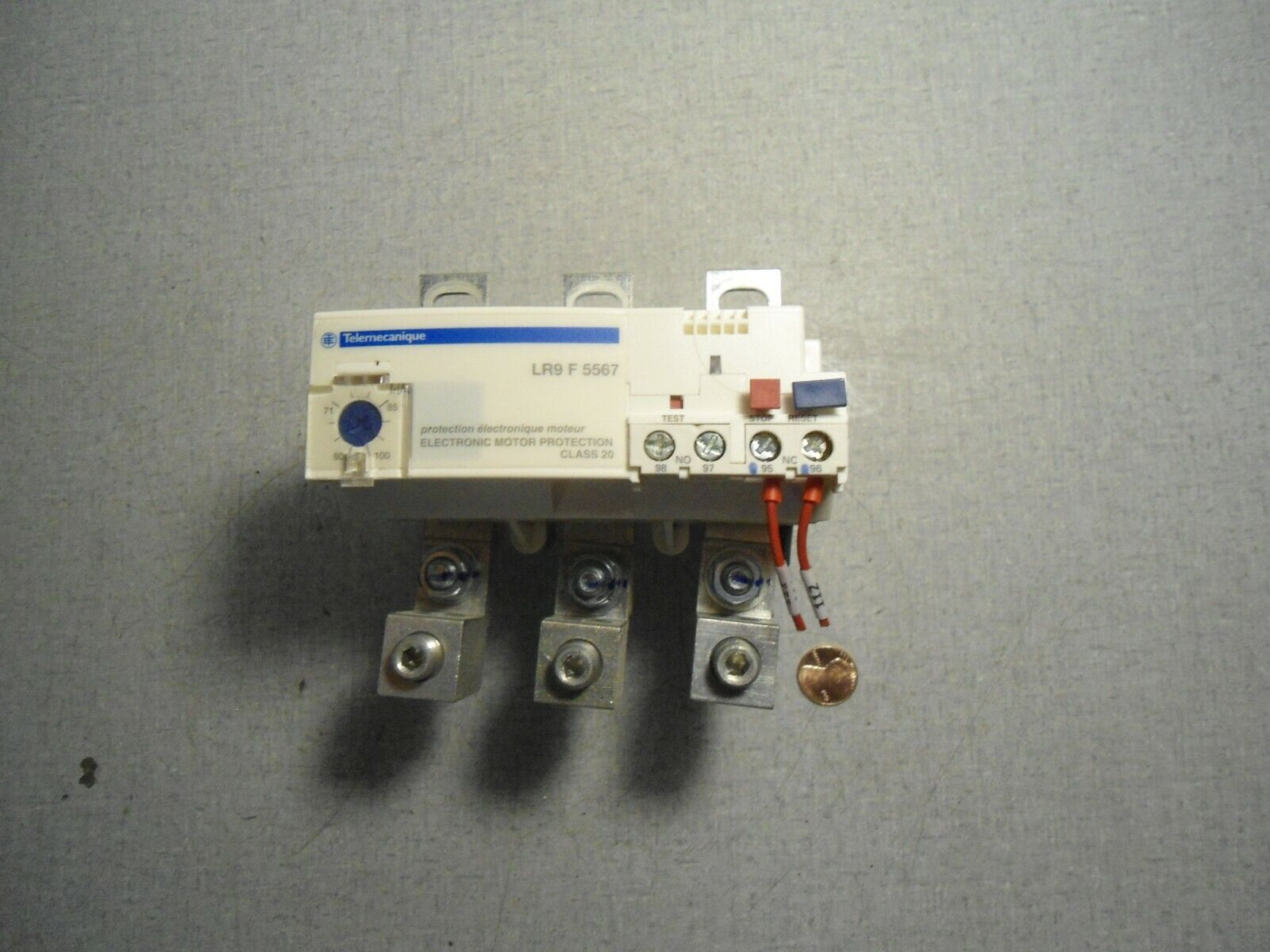 Telemecanique LR9F5569 Electronic Motor Protection 90A-150A