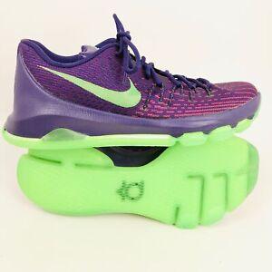 Ceniza estas comportarse  Nike KD 8 Suit VIII Purple Green Kevin Durant Mens Basketball Shoes US 9.5  | eBay