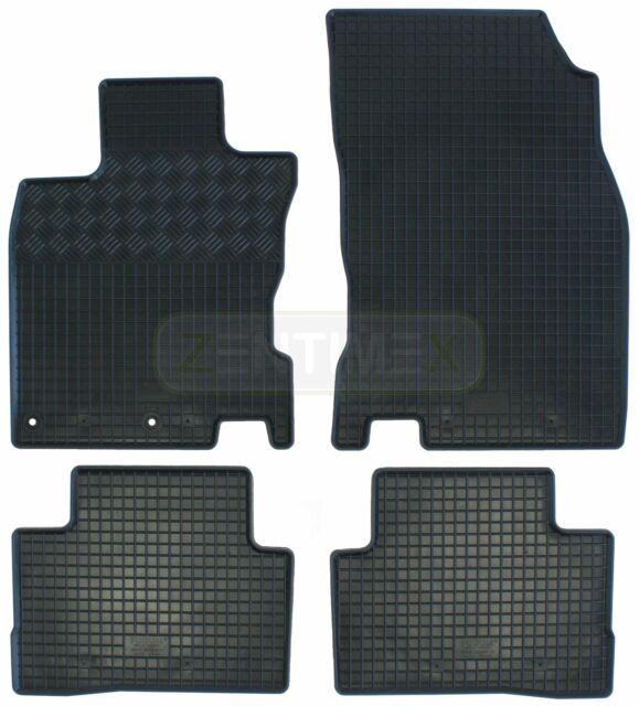 Gummifußmatten für Nissan Qashqai 2 J11 2014- 4tlg
