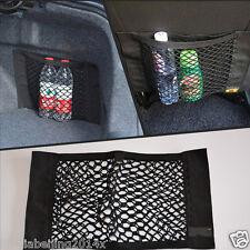 Car Black Back Rear Trunk Seat Elastic String Net Mesh Storage Bag Pocket Cage