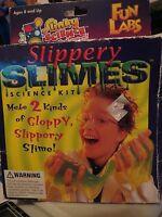 Slinky Slimes Science Kit - Fun Lab Slippery Slimes, Missing Instructions