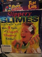 Slinky Slimes Science Kit - Fun Lab Slippery Slimes, Missing Instructions