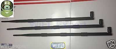 New 9dBi RP-SMA WiFi Antenna For Asus RT-N16 RT-N66U RT-AC66U AC1750 DIR-655 C7