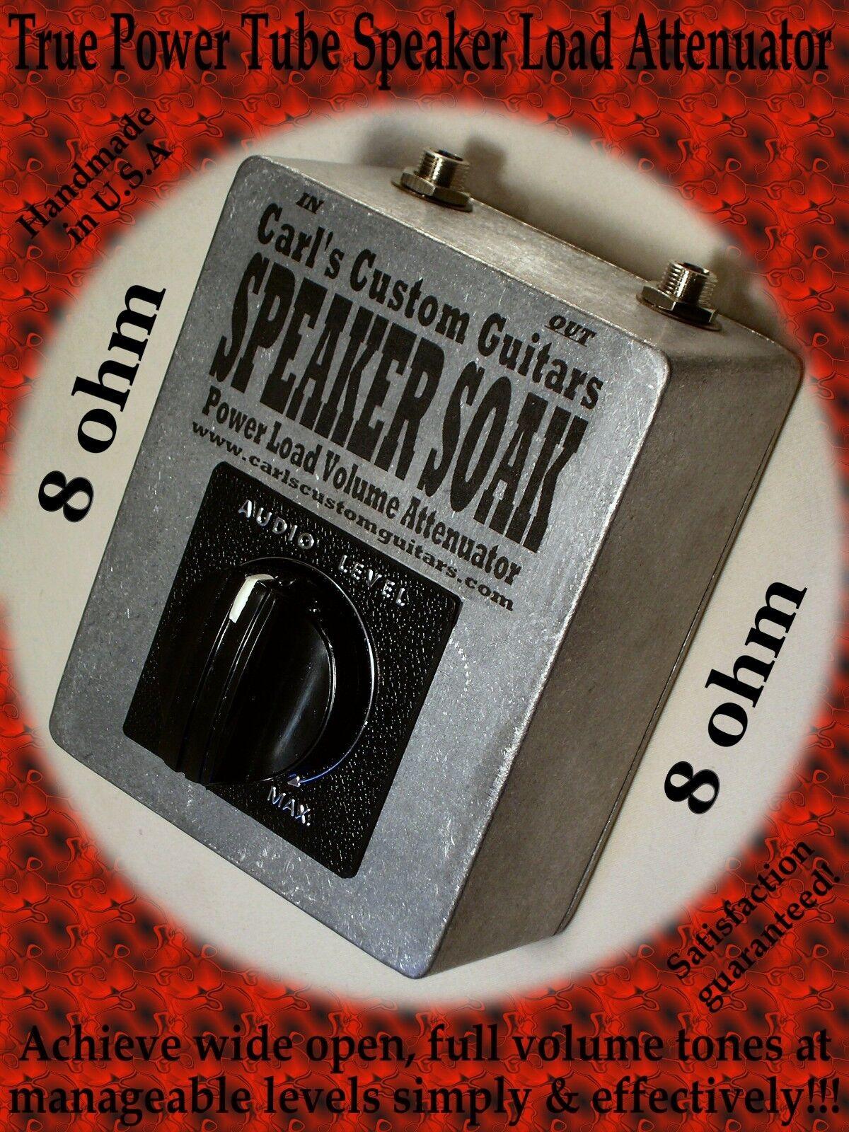 8 Ohm hasta 60w Altavoz Altavoz Altavoz Soak Guitarra Power Tube Freno   Carga   Mass Atenuador 53a81d
