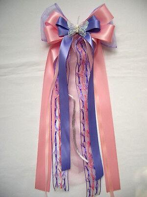 Schleife*für Schultüte*Zuckertüte*Schultütenschleife*Einschulung*lila*flieder*