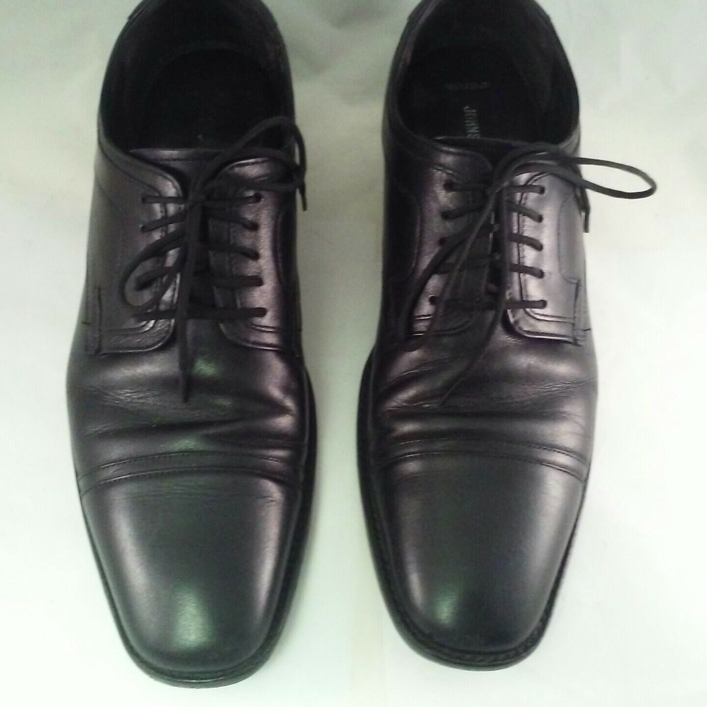 acquista online oggi Johnston & Murphy Uomo Uomo Uomo Larsey 2-Cap Toe Oxford 20-1277 nero US 10.5  in linea